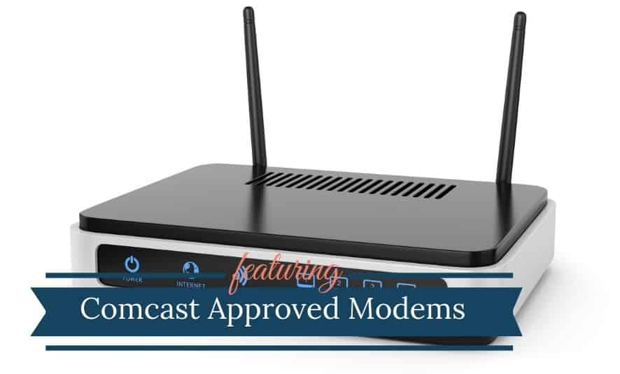 Comcast Xinifty Approved Modems