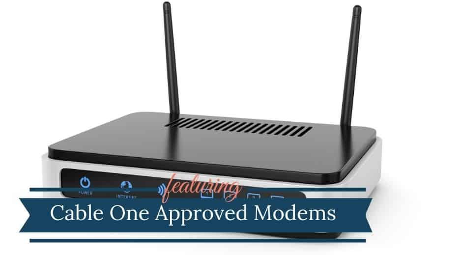 Cable One Approved Modems