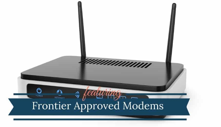 Frontier Approved Modems 2019