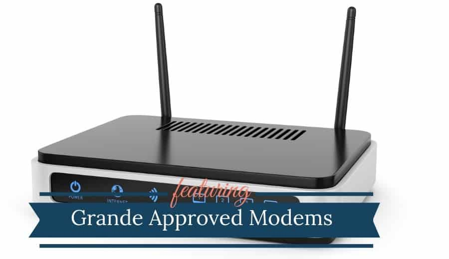 Grande Approved Modems